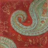Paisley Wave II Print by Patricia Quintero-Pinto
