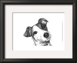 Robbie the Jack Russell Print by Beth Thomas