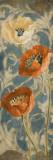 Poppies de Bleu II Poster by Lanie Loreth