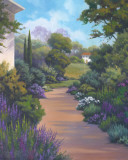 Garden Path I Prints by Vivien Rhyan