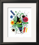 The Singing Fish Prints by Joan Miró