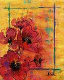 Artistic Poppy I Prints by Patricia Quintero-Pinto