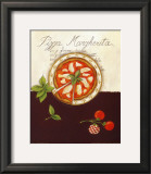 Pizza Margherita Print by Sophie Hanin