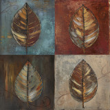 New Leaf Patch II Prints by Patricia Quintero-Pinto