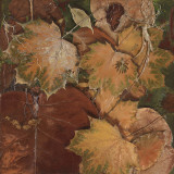 Scattered Leaves II Prints by Patricia Quintero-Pinto