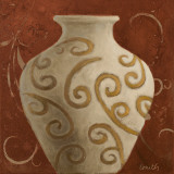 Vessel on Red I Art by Lanie Loreth