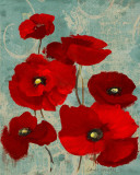 Kindle's Poppies I Poster by Lanie Loreth