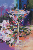 N.Y. Martini Poster by Jane Slivka