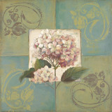 Hydrangeas on Green I Prints by Patricia Quintero-Pinto