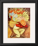 El Vendedora De Flores Prints by Diego Rivera