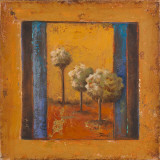 Lonely Trees II Print by Patricia Quintero-Pinto