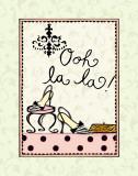Ooh La La Prints by Rebecca Lyon