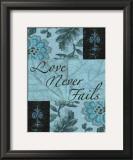Love Never Fails Poster by Marilu Windvand