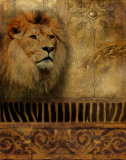Elegant Safari IV Kunstdrucke von Patricia Quintero-Pinto