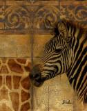 Elegant Safari I Poster by Patricia Quintero-Pinto