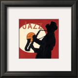 Cool Soul Jazz Print by Marco Fabiano