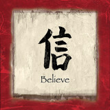Believe Prints by  Echofish