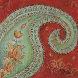 Paisley Wave I Prints by Patricia Quintero-Pinto