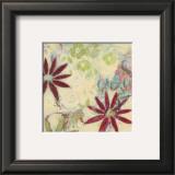 Floral Rhythm II Art by Claire Lerner