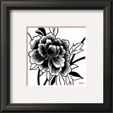 Black Rose I Prints by Hilary Anderson