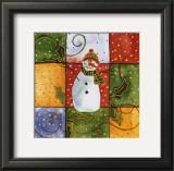 Snowman Posters by Carol Robinson