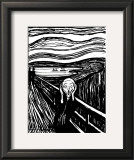 Scream Posters by Edvard Munch