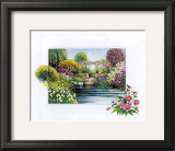 Memories of Giverney II Prints by Johan De Jong