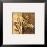 Leaf Patterns I Prints by Linda Thompson