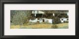 Shloss Kammer on Attersee Posters by Gustav Klimt