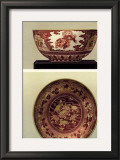 Oriental Bowl and Plate I Art by George Ashdown Audsley