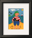 Treasure Island I Prints by Sophie Harding