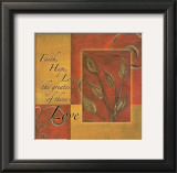 Spice Blocks, Faith Hope Love Art by Maria Girardi