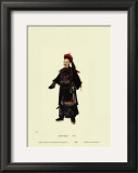 Chinese Mandarin Figure Prints