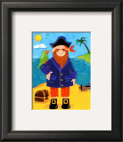 Treasure Island III Prints by Sophie Harding