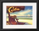 Escape to Cuba Art by Kerne Erickson