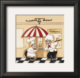 Patisserie Posters by Joy Alldredge