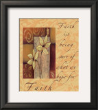 Words to Live By: Faith Print by Marilu Windvand