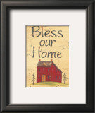 Bless our Home Posters by Jo Moulton