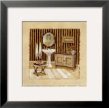 Vintage Bath III Prints by Charlene Winter Olson