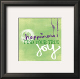 Joy Prints by Linda Woods