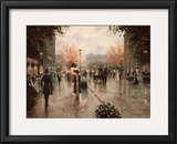 Une Parissienne Art by Christa Kieffer