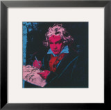 Beethoven, c.1987 (red face) Art by Andy Warhol
