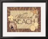 Beach Print by Stephanie Marrott