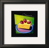 Cheesecake Print by Mary Naylor