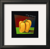 Yellow Pepper Posters by Mary Naylor