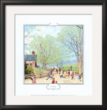 Carefree Days Ahead Prints by Norman Rockwell