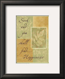 Words to Live By: Seek and You Shall Find Prints by Marilu Windvand