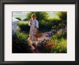 Grandma's Garden Print by Robert Duncan