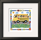 Bus Prints by Cheryl Piperberg