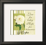 Spring Peony: Hope Prints by Marilu Windvand